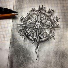#tattoo #pontilhismo #dotwork #dotworkers #dotworkbrasil #blackwork #darkartists #blackworkers #moleskine #myworldofink