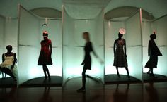 Within the exhibition, Isabella Blow: Fashion Galore! © Peter Macdiarmid / Getty Images for Somerset House