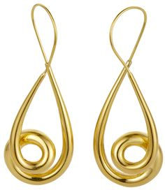 Nigel Milne Michael Good Gold Earrings An Extraordinarily Beautiful Pair Of 18ct
