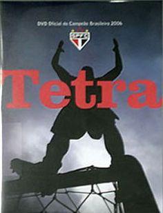 DVD Oficial Tetra - 4 x Campeão Brasileiro