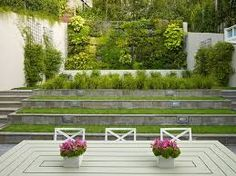 Image result for ideas for a sloping garden