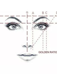 Golden Mean CALIPERS Eyebrow Microblading Permanent Makeup Ratio Measurement Tool Fibonacci Gauge Symmetrical Tattoo Ruler Face Drawing Reference, Drawing Tips, Sketch Drawing, Drawing Ideas, Makeup Tips, Beauty Makeup, Eye Makeup, Eyebrow Makeup Tutorials, Makeup Ideas