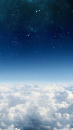 Wallpaper free sky, sky full of stars, midnight sky, natural scenery, aesth Night Sky Wallpaper, Cloud Wallpaper, Iphone Background Wallpaper, Galaxy Wallpaper, Nature Wallpaper, Aesthetic Backgrounds, Aesthetic Iphone Wallpaper, Aesthetic Wallpapers, Blue Wallpapers