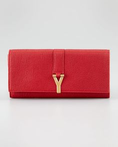 ac5ad764a6a ChYc Y Clutch Bag by Yves Saint Laurent at Neiman Marcus.
