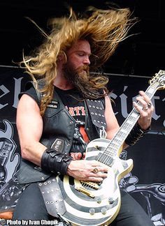 Zakk Wylde plays, looks, and acts just like I imagine I would myself were I a successful metalist.