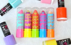 London Beauty Queen: NEW: Rimmel London 'Keep Calm' Lip Balm & Nail Polish Collection Diy Beauty, Beauty Makeup, Beauty Hacks, Love Lips, Baby Lips, Best Lipsticks, Rimmel London, Nail Polish Collection, Makeup Revolution