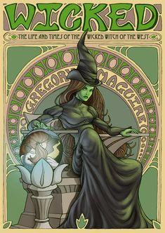 Wicked Witch by ArtNerdEm