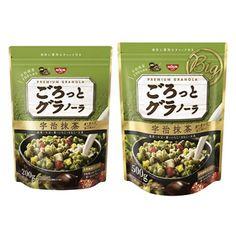 ごろっとグラノーラ <宇治抹茶> - 食@新製品 - 『新製品』から食の今と明日を見る!