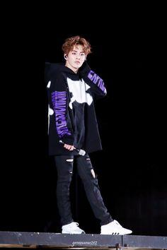 Xiumin - 170527 Exoplanet #3 - The EXO'rDium [dot]  Credit: Sunidyo. Exo Xiumin, Exo Kai, Exo 2017, Exo Official, Photo Editing Vsco, Wu Yi Fan, Kim Minseok, Chinese Boy, Korean Singer