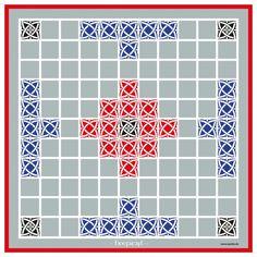 #Hnefatafl - Das Lieblingsspiel der #Wikinger! Ein asymmetrisches Strategiespiel für 2 Personen. Ein Spieler spielt die Seite der Angreifer einer Burg, der andere die Seite Königs, der sich in Sicherheit bringen muss. #Brettspiele - aus unserem Verlagsprogramm!