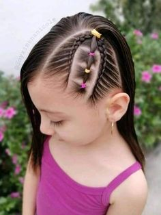 Girl Hair Dos, Baby Girl Hair, Baby Hair Cut Style, Lil Girl Hairstyles, Braids For Long Hair, Bobby Pins, Hair Accessories, Long Hair Styles, Beauty