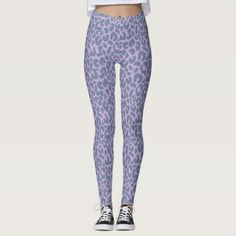 Purple Cheetah Leopard Cute Elegant Animal Print Leggings arm day workout, fat legs workout, gym leggings outfit #gymfashion #yogapantsday #yogaposeoftheday, dried orange slices, yule decorations, scandinavian christmas 2 A Day Workouts, Yoga Workouts, Workout Ideas, Printed Leggings, Black Leggings, Floral Leggings, Workout To Lose Weight Fast, Workout Leggings, Gym Leggings