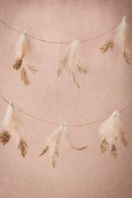 Dipped Feather Garland (3)