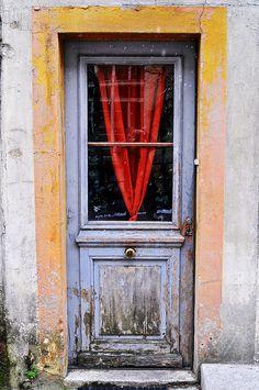 Old door by Tambako the Jaguar, via Flickr