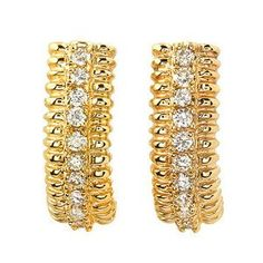 .75 Ctw Diamond Earrings Set in 14k Solid Gold Passion Gems. $2400.00. This is a Very High Quality Diamond Ring. .75 ctw Diamond Earrings set in 14k solid gold. Thick Gold and White Diamonds
