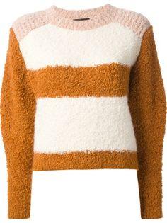 Isabel Marant Color 6 Suéter Block Owel Color Sweater Bloque ggzr1x