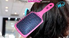 "Luxor Pro -THE WET BRUSH ""paddle edition "" DETANGLING HAIR BRUSH _ pink"