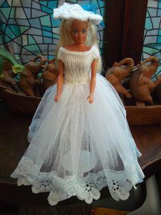 Handmade  Outfit (962) for Barbie Dolls   (nannycheryloriginal) £3.50