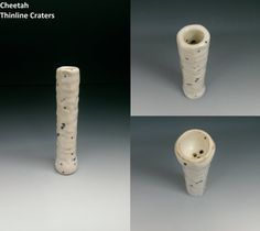TOBACCO PIPE  Thinline Craters Cheetah  Hand Made by CagwinManchen