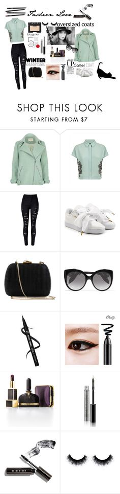"""""""Untitled #53"""" by gurleenkaur02 on Polyvore featuring River Island, Jaeger, Puma, Serpui, Alexander McQueen, Tom Ford, Bobbi Brown Cosmetics and NARS Cosmetics"""