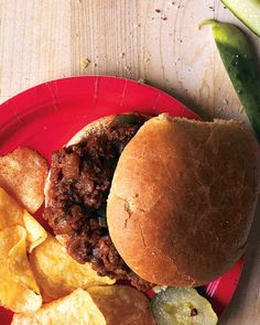 Sloppy Joes are a classic, and make for a great game day food