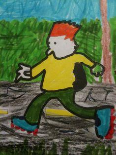 Having a jog!