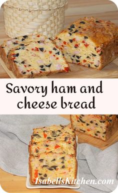 Savory ham and cheese bread - Video recipe - isabell's kitchen