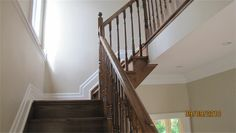Oak Self Supporting Stairs with Hockey stick stringers (Anlif Group Limited) Can Design, Hockey, Stairs, Group, Home Decor, Ladders, Homemade Home Decor, Stairway, Staircases