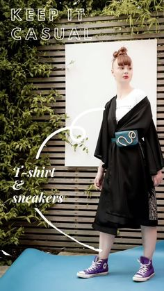 Perhaps one of the most popular traditional garments that have been reinterpreted in fashion, the kimono is as versatile as it can get. Nowadays, the traditional kimono is no longer worn in Japan as a day-to-day dress but has been incorporated in our outfits worldwide. Whether we're talking about a wrap dress with flared sleeves or a silk cover-up, kimono-inspired items seem to be everywhere. statement kimono dress womenswear plus size available Traditional Kimono, Summer Outfits, Summer Dresses, Kimono Dress, Kites, Day Dresses, Wrap Dress, Women Wear, Plus Size