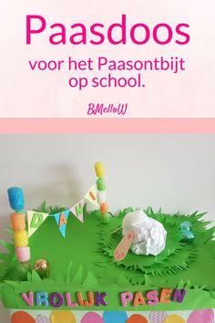 Paasdoos voor het Paasontbijt op school. BMelloW