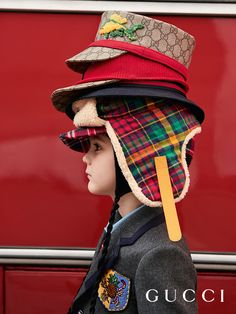 New accessories from the Gucci Fall Winter 2017 Children's Back to School Collection.