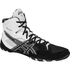 best service c735c 69b87 Cael v7.0 (Black   Onyx   White) Asics Men, Wrestling Shoes