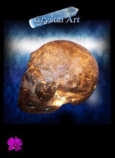Russian Smoky Skull www.gardencrystals.com