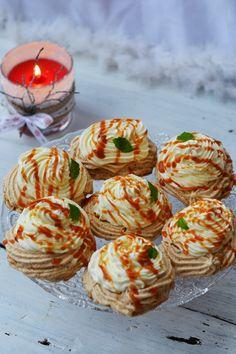 Romanian Desserts, Romanian Food, Romanian Recipes, Cooking Recipes, Healthy Recipes, Frosting Recipes, Pavlova, Cake Cookies, No Bake Cake