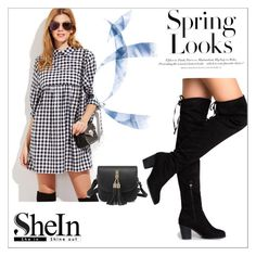 """""""Shein 34"""" by zerina913 ❤ liked on Polyvore featuring H&M and shein"""