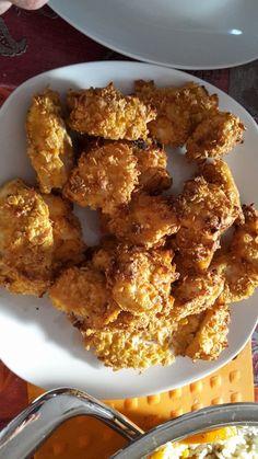 Knusprig - leichte Chicken Nuggets, ein schönes Rezept aus der Kategorie Geflügel. Bewertungen: 304. Durchschnitt: Ø 4,5.