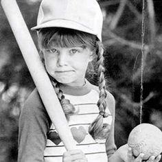 Fergie (Stacy Ferguson) childhood photo  http://celebrity-childhood-photos.tumblr.com/