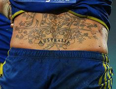 The Coat of Arms. | The 14 Most Fair Dinkum Tattoos Known To Man