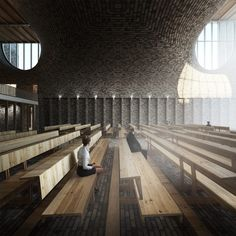 LUCA POIAN FORMS · Church in Sydhavnen