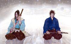 Art by Takehiko Inoue. Samurai Art, Samurai Warrior, Art Anime, Manga Anime, Karate, Vagabond Manga, Inoue Takehiko, Miyamoto Musashi, Japanese Warrior