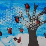 Red Ted Art's Blog » Blog Archive Kids Get Crafty: Winter Scene (for Calendar - January) » Red Ted Art's Blog