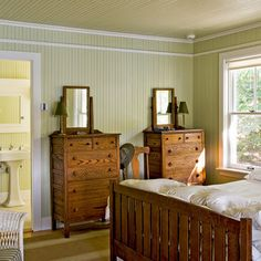 Beadboard walls and ceilings together on pinterest - Bedroom furniture portland maine ...