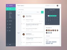Recently worked on this web app layout, which gives the user to self report activities or view what teammates are working or worked on according to selected timeline.  Check out realpixels view.  F...