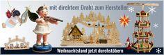 Jetzt das Weihnachtsland Erzgebirge durchstöbern