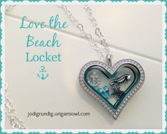 Love the Beach Locket... Origami Owl Heart Living Locket...   FREE CHARM WITH A $25 OR MORE PURCHASE... Contact me to place your order YourCharmingLocket@gmail.com or message me on Facebook https://www.facebook.com/YourCharmingLocket. Or just place your order on our website http://yourcharminglocket.origamiowl.com/ ---LIKE OUR FAN PAGE FOR A CHANCE TO WIN A FREE CHARM. 3 WINNERS EVERY MONTH--- Want more than just one locket, consider joining our team for an extra income.