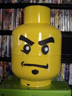 Great idea for a recycled table for Arthur at T-T-T LEGO Grimace, recycled propane tank.