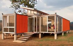 Containers of Hope / Benjamin Garcia Saxe Architecture. Image © Andres Garcia Lachner