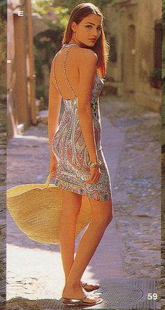 "Victoria's Secret ""Old School"" Models (March 2006 - July 2013) - Page 10 - the Fashion Spot   Spring 2000 Swimwear catalog - fabulous Fernanda Tavares"