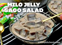 Coffee Jelly, Merry Christmas To You, Christmas Decorations, Salad, Cooking, Sweet, Desserts, Food, Jelly Cafe