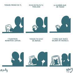Todavía te echo de menos : #WebcomicZ 020 : #ClipStudioPaint  #Cintiq  #: #webcomic #comics #comicdiario #dailycomic #comic #tebeo #illustration #draw #sketch #drawing #art #artistsoninstagram #dibujodiario #cute #adorable #digital #digitalpainting #digitalart : #DailySketch 751 #verde #green #cat #gato #neko #chat